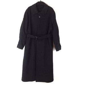 Wool and Cashmere Napoleon Trench Coat